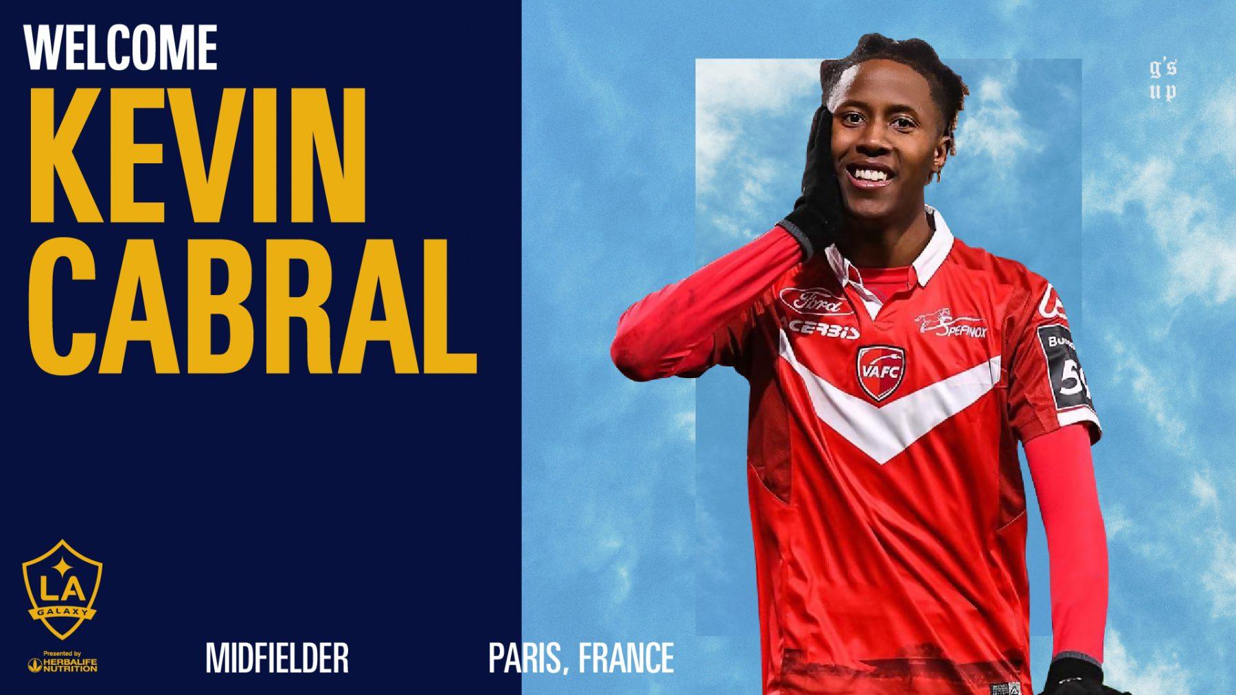 Kévin Cabral signe au La Galaxy !